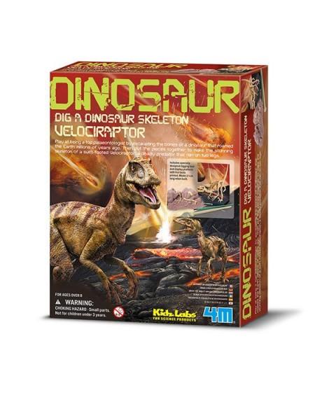 Descubre un Velociraptor