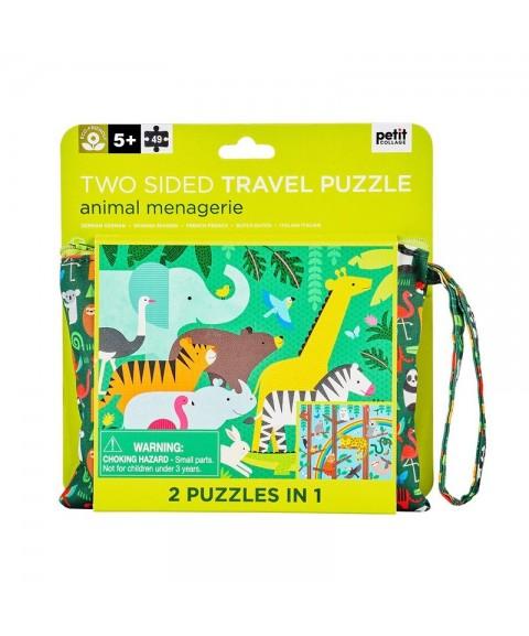 Puzzle Animales de la selva...