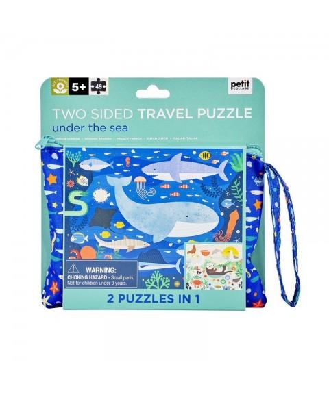 Puzzle Bajo el mar 2 en 1