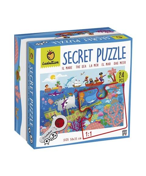 Puzzle secreto del mar - 24 p.