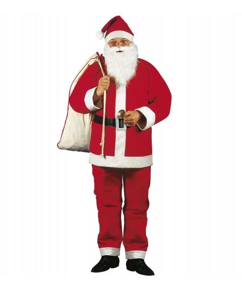 Traje Papá Noel para adultos
