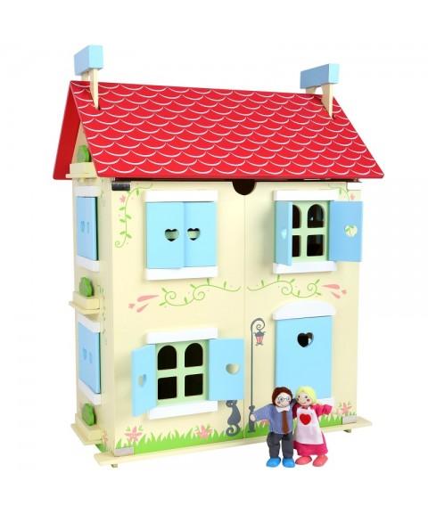 Casa de muñecas con techo...