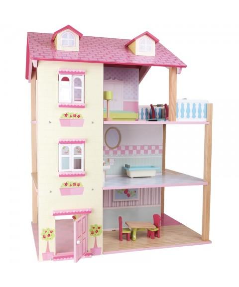 Casa de muñecas girable