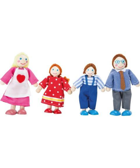 Familia de muñecos...