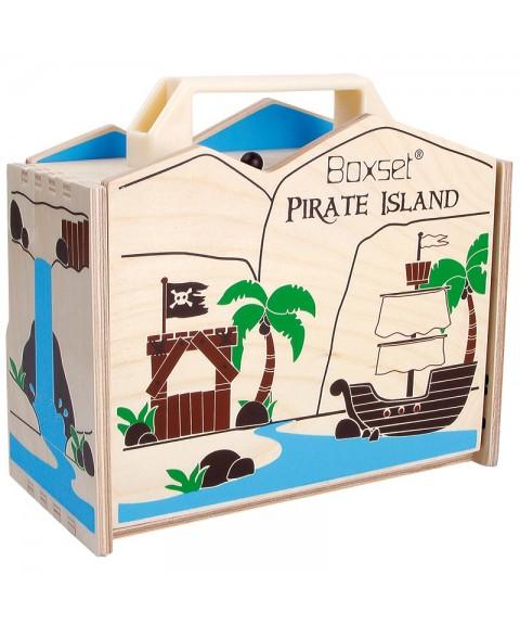Maletín Isla Pirata