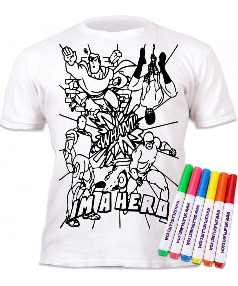 Camiseta para colorear -...