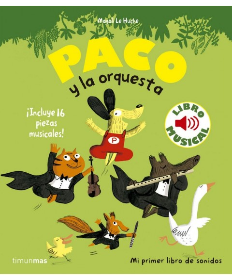 Paco y la orquesta - Libro...