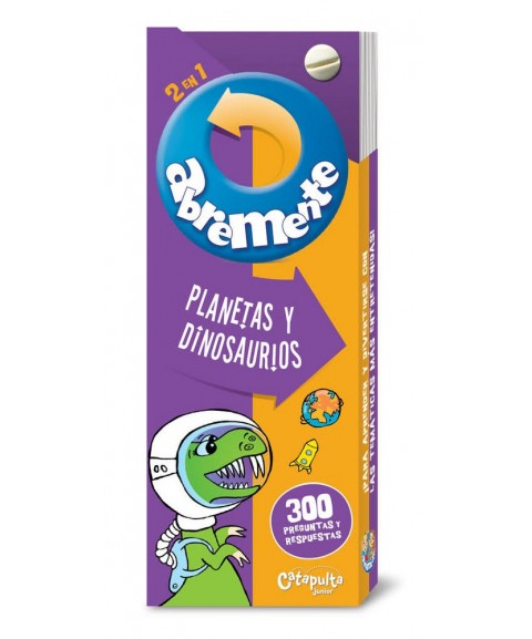 ABREMENTE 2 en 1: Planetas...