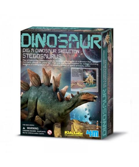 Descubre un Stegosaurus