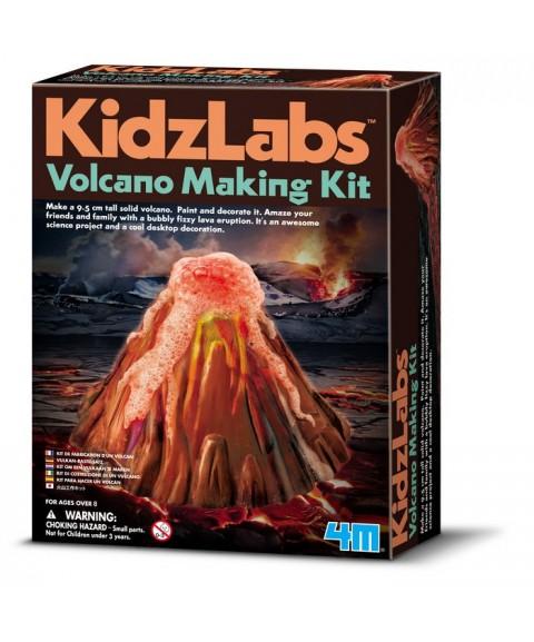 Construye tu volcán