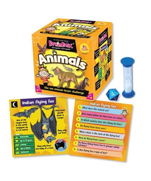 Brainbox Animales en inglés