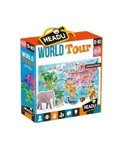 Puzzle gigante World Tour