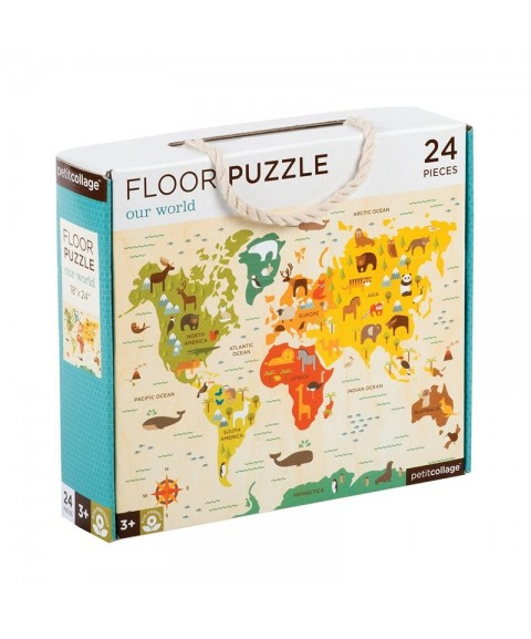 Puzzle de suelo Our World