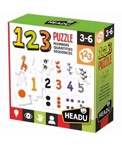 Juego 123 Puzzle