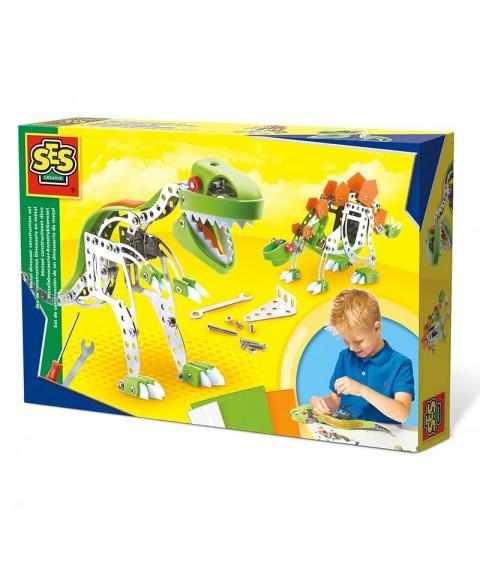 Construye un dinosaurio de...