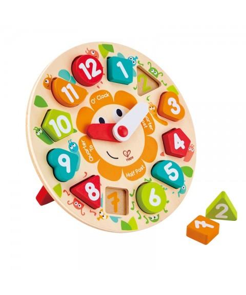 Puzzle infantil Reloj