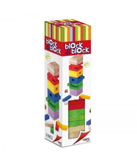 Torre Block & Block colores