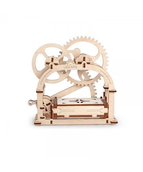 Maqueta Caja mecánica