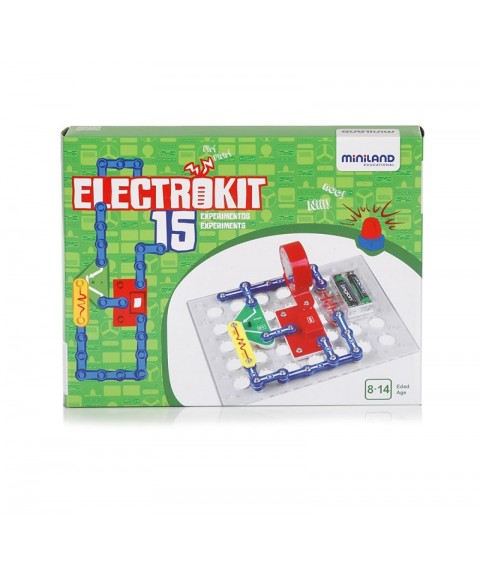 Electrokit 15 experimentos